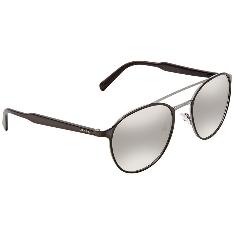 e592ef5afbd ... germany prada gradient grey mirror silver aviator mens sunglasses pr  62ts 1ab4s1 54 d2dcc 0b0ca
