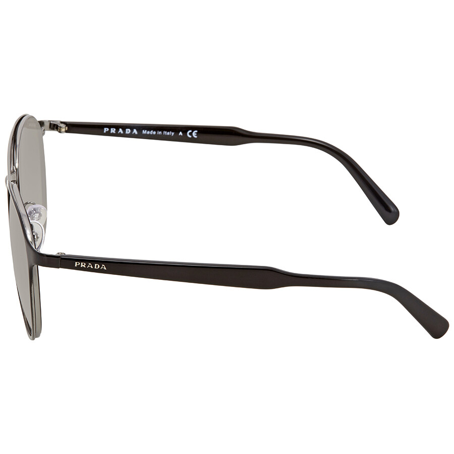 540817c6847dc ... germany prada gradient grey mirror silver aviator mens sunglasses pr  62ts 1ab4s1 54 13e5e 47eab ...