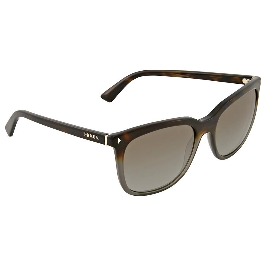 Prada Sonnenbrille 12Rs Grey Havana Gradient, 56
