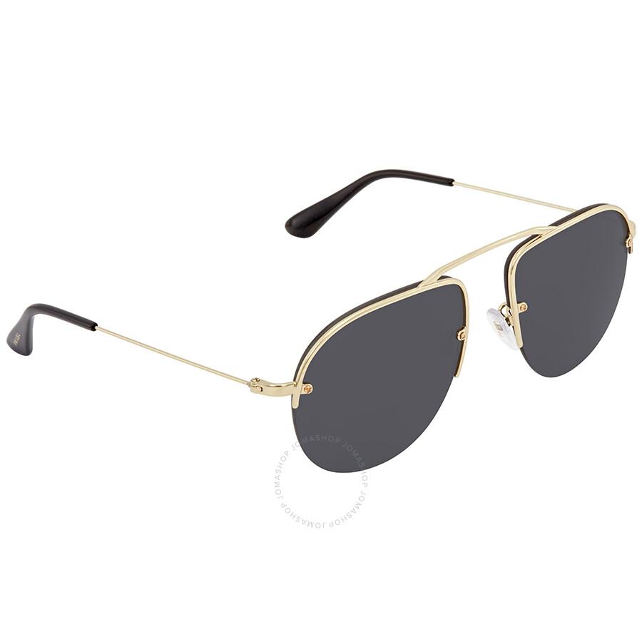 bf537655172 ... low price prada grey mens sunglasses pr 58os zvn5s0 55 097a7 96c3e ...