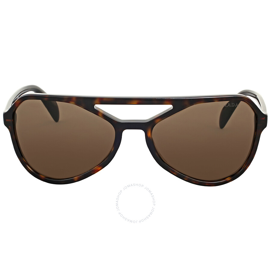 54ee3f3f2a4 8053672393453 EAN - Prada Havana Aviator Sunglasses