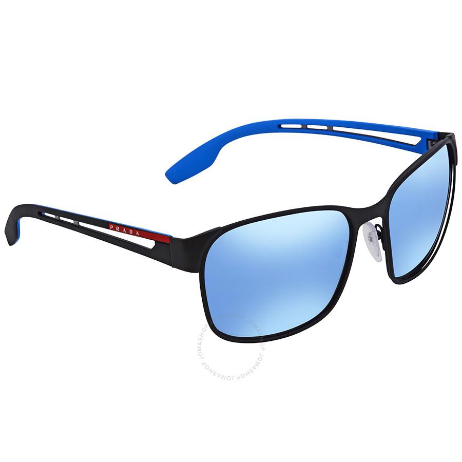 b6f73405c039 order prada vy70d261 matte blue sunglasses 2e812 66392  order prada linea  rossa dark grey mirror water square sunglasses ps 52ts dg02e0 59 6edb7 c1270