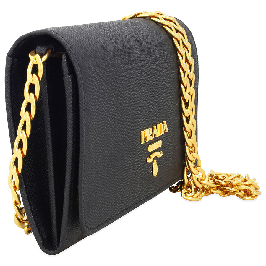 8c1ac38792f7 where to buy prada lux saffiano leather crossbody wallet black 3d9e9 74d41