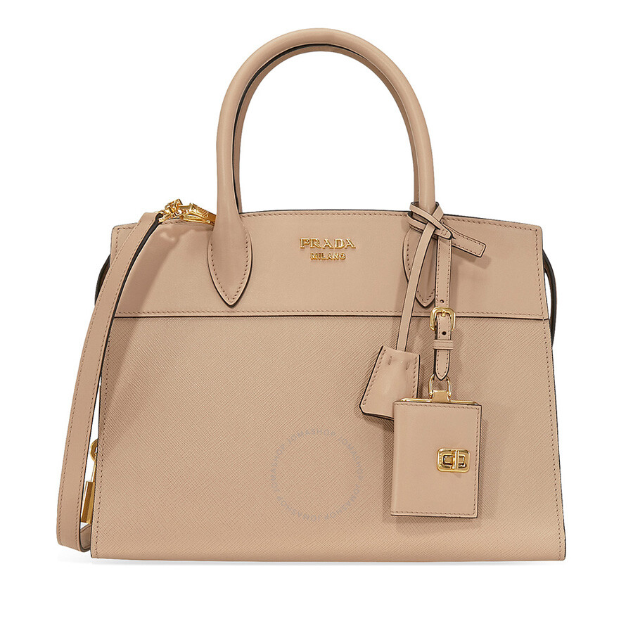 773a48e8c9c83c ... store prada medium esplanade leather tote bag cameo 765ce 9eb57 ...