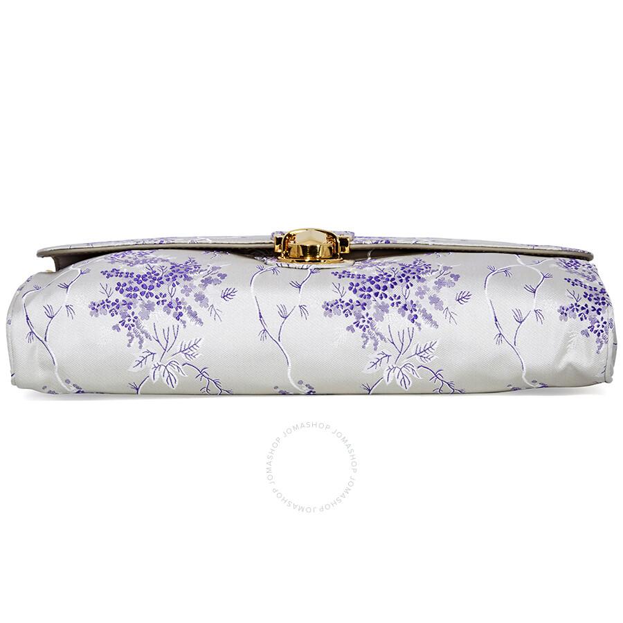 cde52ed9d439 ... australia prada nylon shoulder bag white lavender 2a9b8 53a02