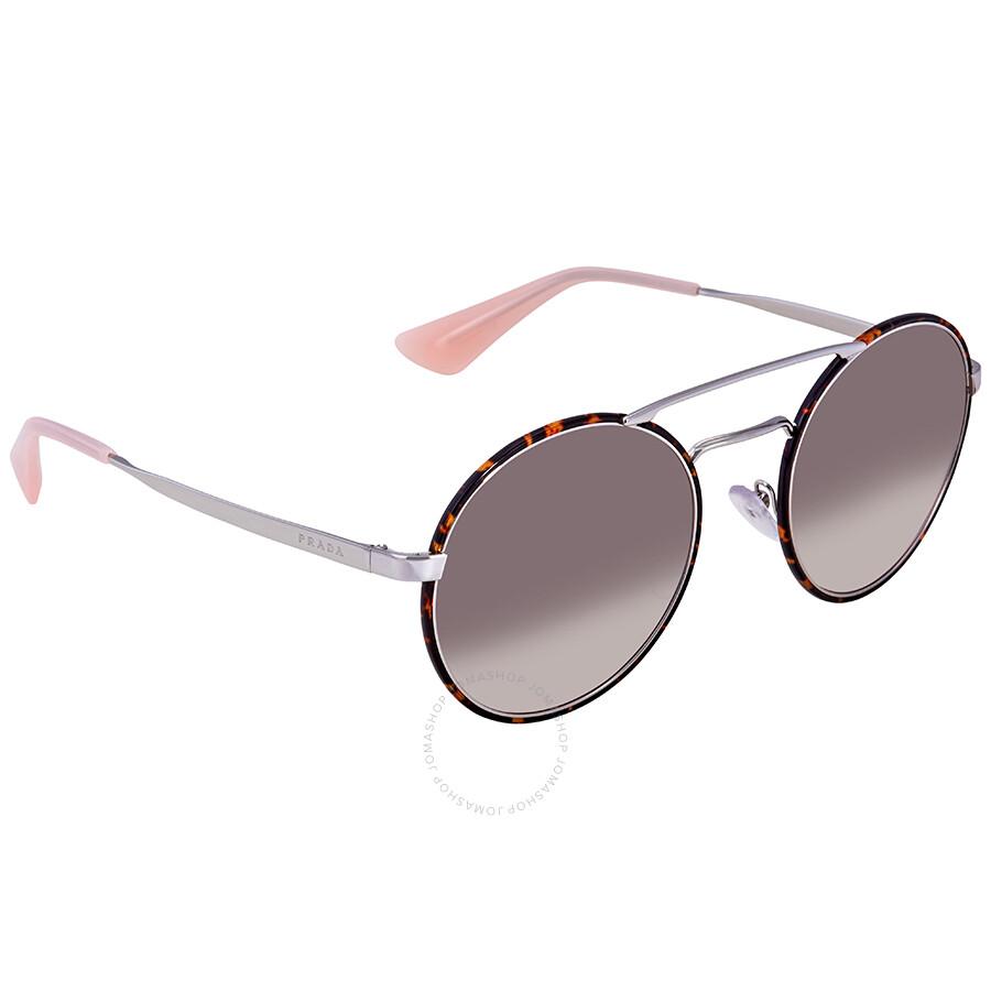 c562ae47a9 ... greece prada pink gradient grey round ladies sunglasses pr 51ss 2au4k0  54 b540e 907f1