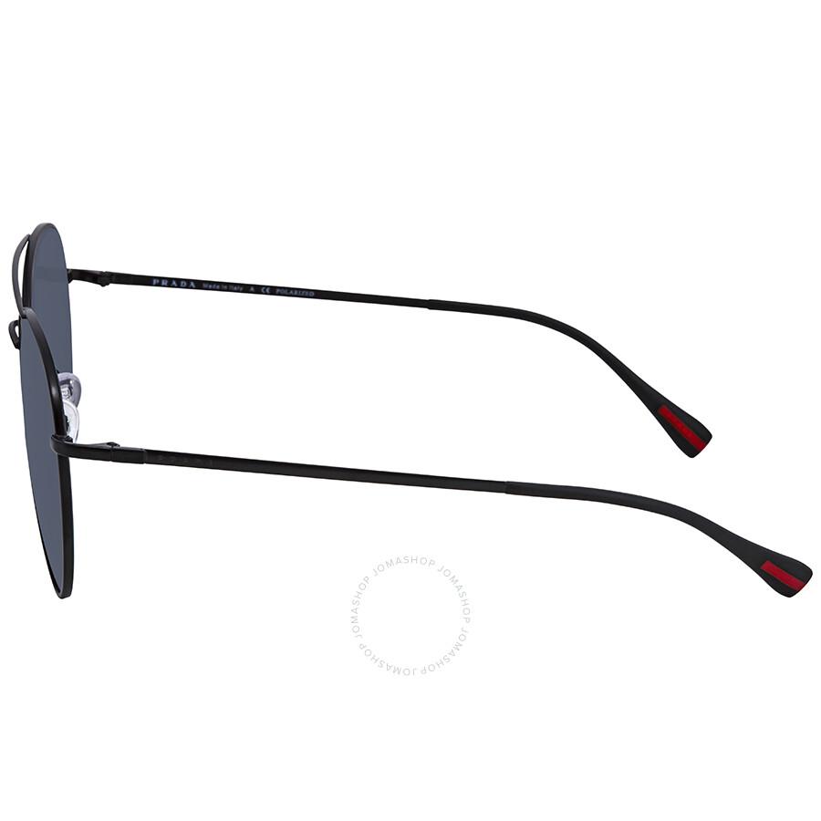 3ce516a91e germany prada polarized grey 60 mm aviator sunglasses ps 50ss 1bo5z1 60  7fa69 c787c