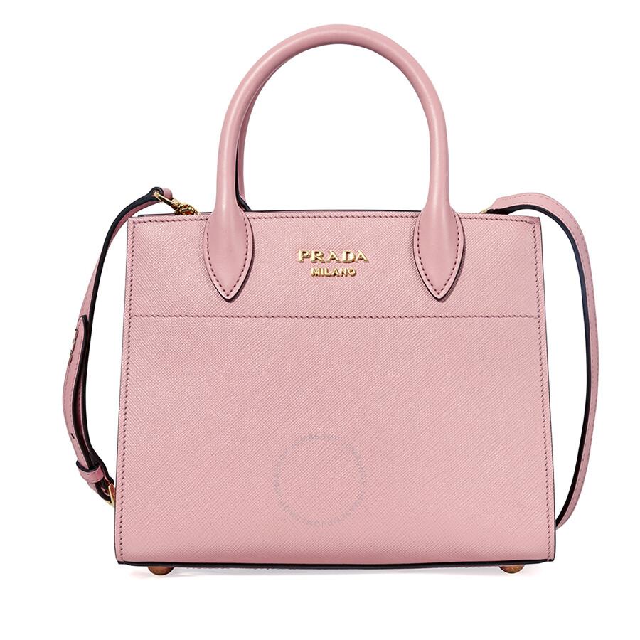 30f266f2be ... new style prada small saffiano calf leather crossbody bag pink 3c872  d1860