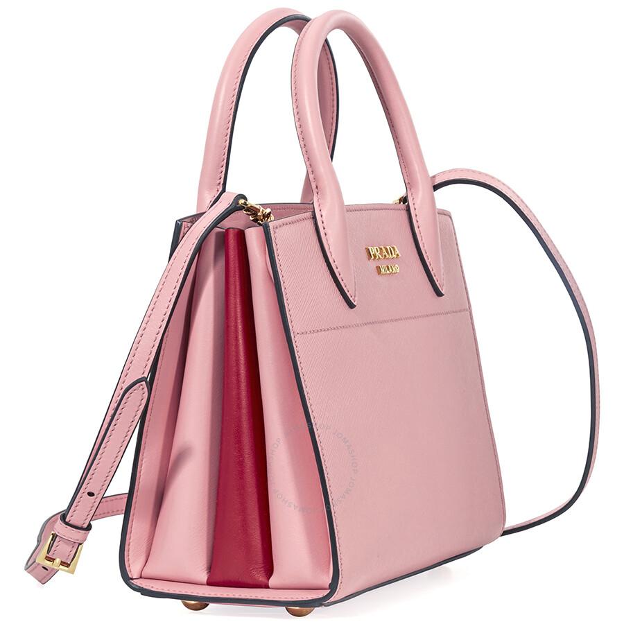 546d4fec0e37 ... new style prada small saffiano calf leather crossbody bag pink ceca2  7969f ...