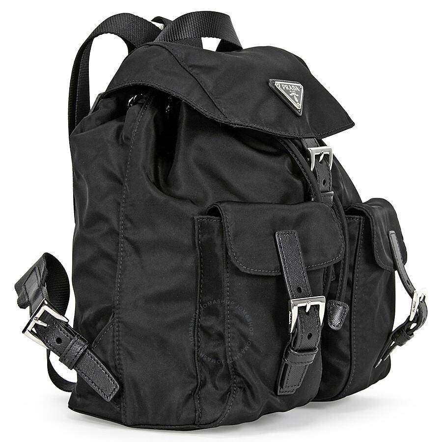 bfad272e12de low price prada promenade leather shoulder bag 97001 fc0ab; spain prada  vela nylon backpack black 1d9f8 22b83