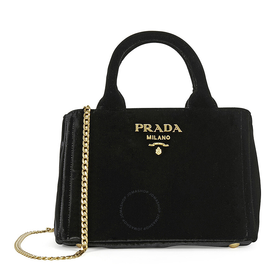 9896bea25bd3 ... closeout prada velvet chain convertible shoulder bag black 5c327 24050