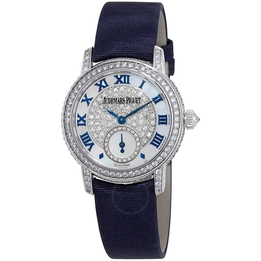Pre-owned Audemars Piguet Jules Audemars Diamond Manual Winding Ladies Watch..