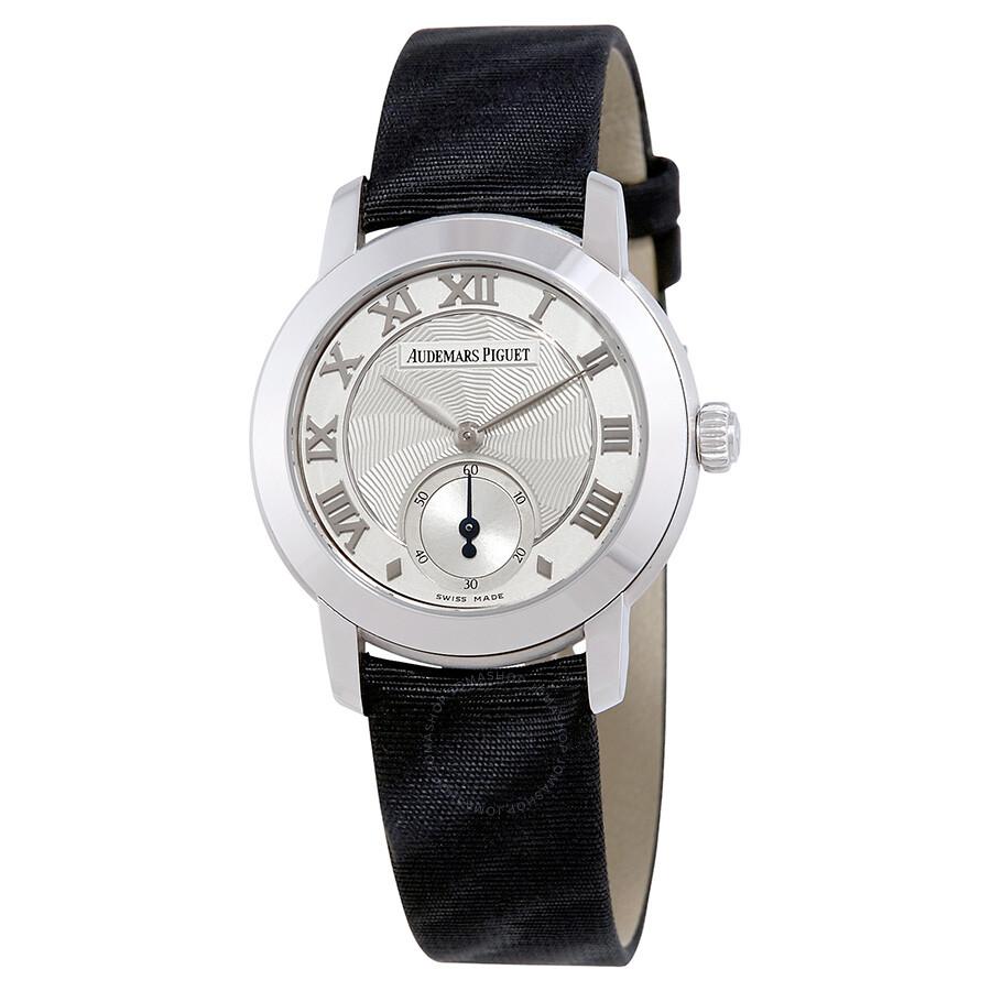 Pre-owned Audemars Piguet Jules Audemars Manual Winding Ladies Watch 77230BC..