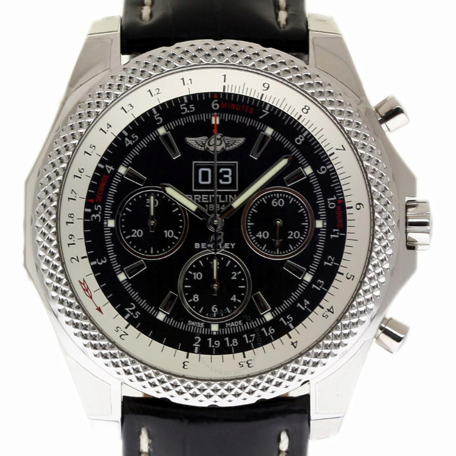 breitling chronometer watches bentley presents gt watch display the channel chronograph max of new ice