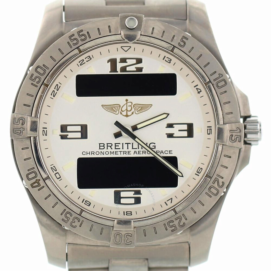 Pre-owned Breitling Professional Aerospace Perpetual Alarm Chronograph Chron..