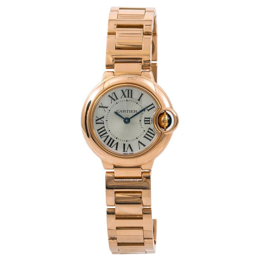 Pre-owned Cartier Ballon Bleu de Cartier Ladies Watch W69002Z2