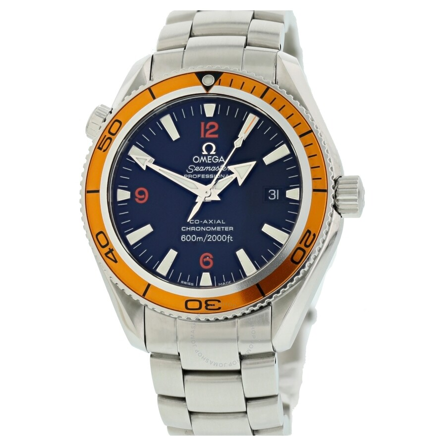Pre-owned Omega Seamaster Automatic Black Dial Mens Watch 2209.50.00