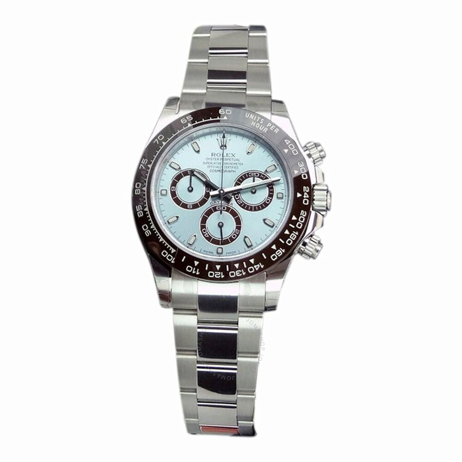 Pre-owned Rolex Cosmograph Daytona Automatic Chronometer Blue Dial Mens Watc..