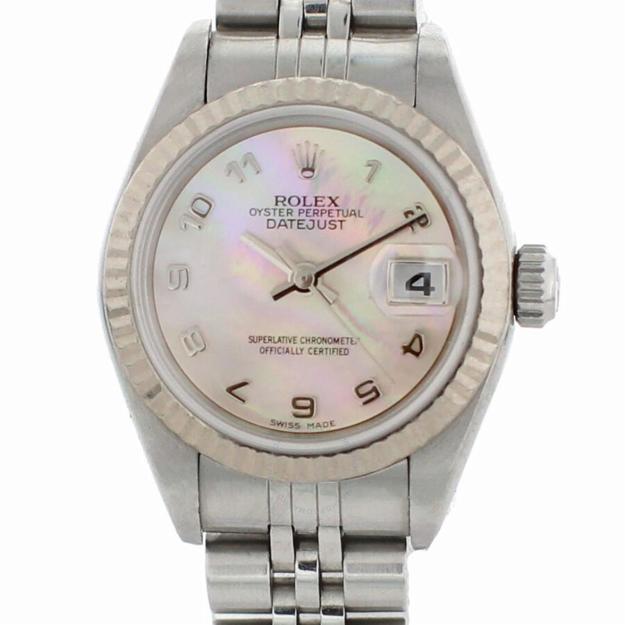 Pre-owned Rolex Datejust Automatic Chronometer Ladies Watch 79174 MAJ