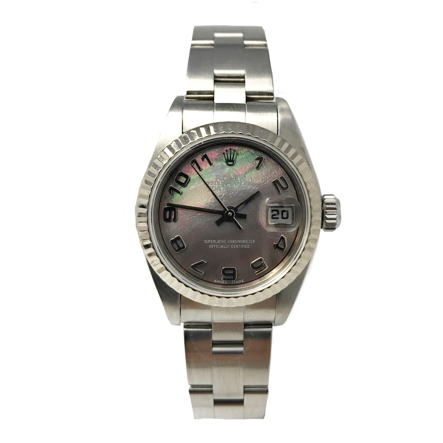 Pre-owned Rolex Lady Datejust 26 Automatic Chronometer Ladies Watch 79174 MAO