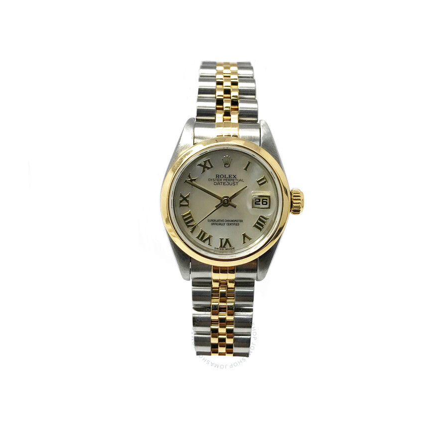 Pre-owned Rolex Lady Datejust 26 Automatic Chronometer White Dial Ladies Wat..
