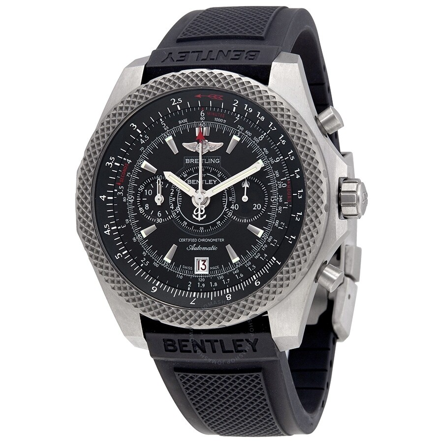 Pre-owned Breitling Bentley Supersports Ebony Dial