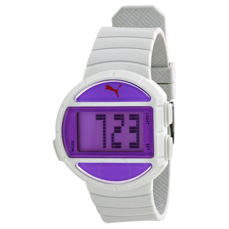 how to change time on puma digital watch