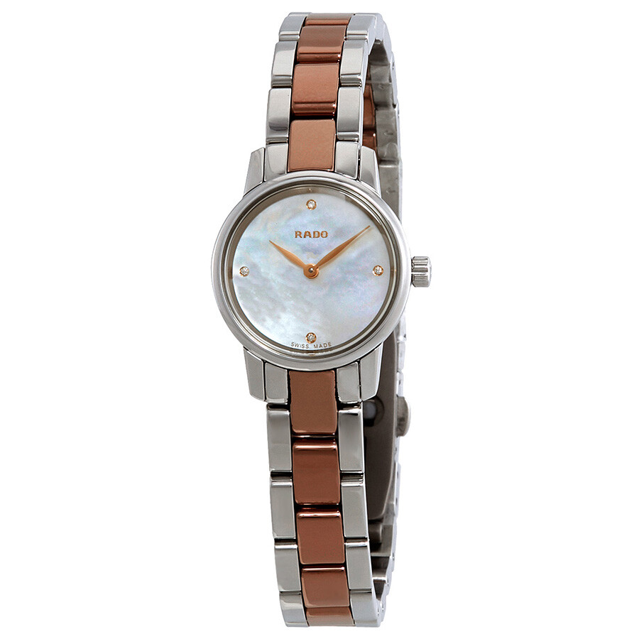 Rado Coupole Classic Diamond White Mother of Pearl Dial Ladies Watch R22890942