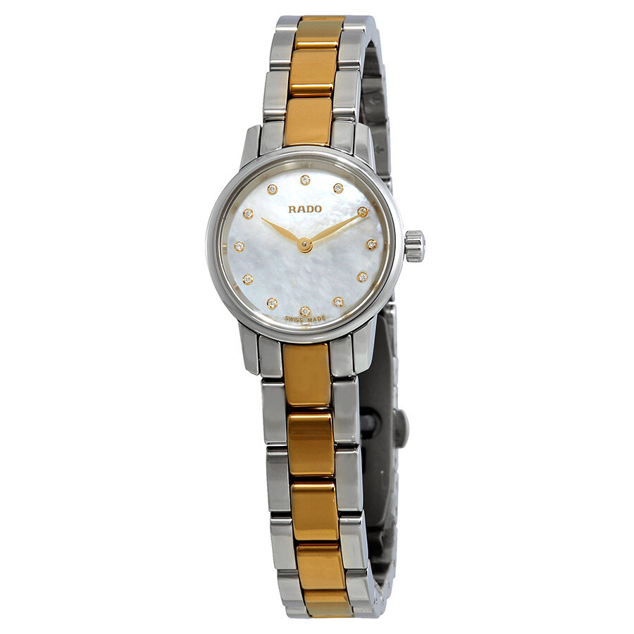 Rado Coupole Classic White Mother of Pearl Diamond Dial Ladies Watch R22890952