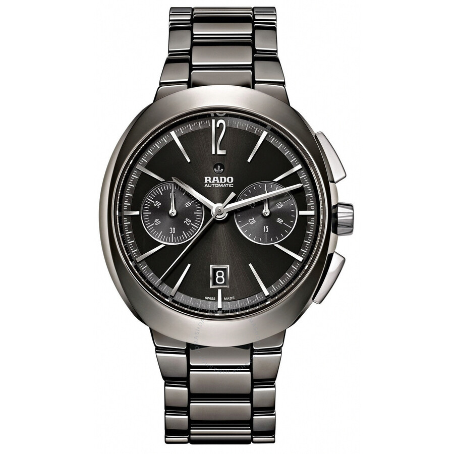 Rado D-Star Chronograph Automatic Black Dial Mens Watch R15198152