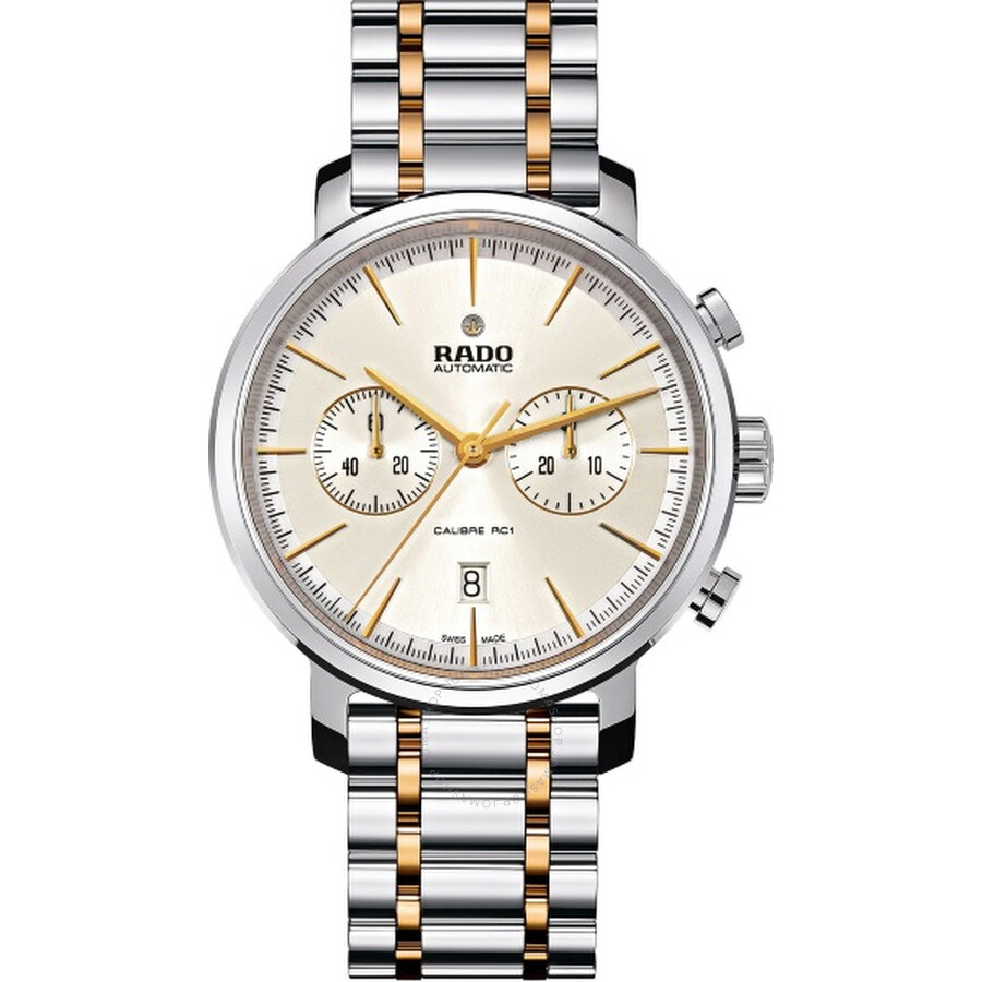 Rado DiaMaster Chronograph Automatic Silver Dial Mens Watch R14070103