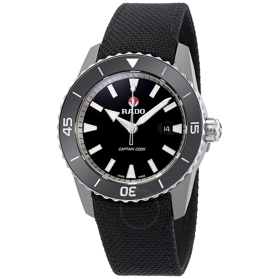 Rado HyperChrome Captain Cook Automatic Black Dial Mens Watch R32501156