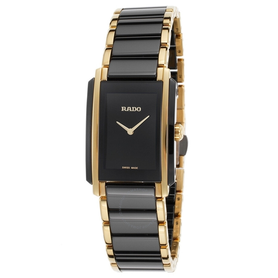 Rado Integral Black Dial Ladies Watch R20845152