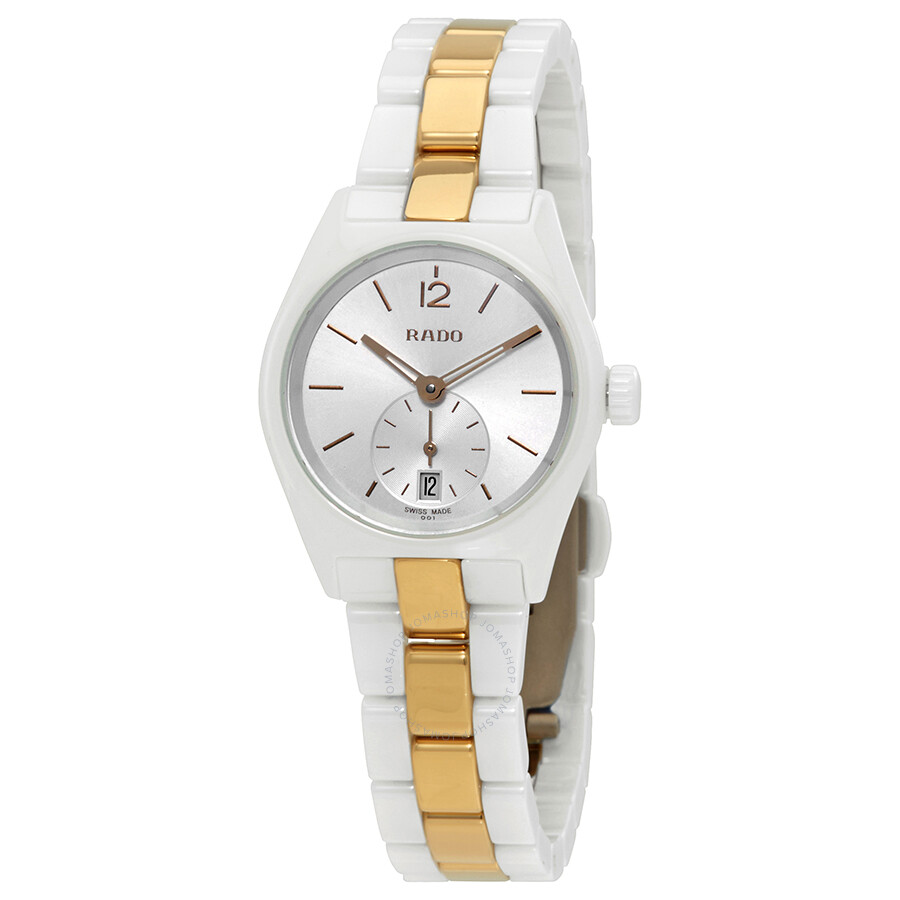 Rado True Specchio Silver Dial Ladies Watch R27085017