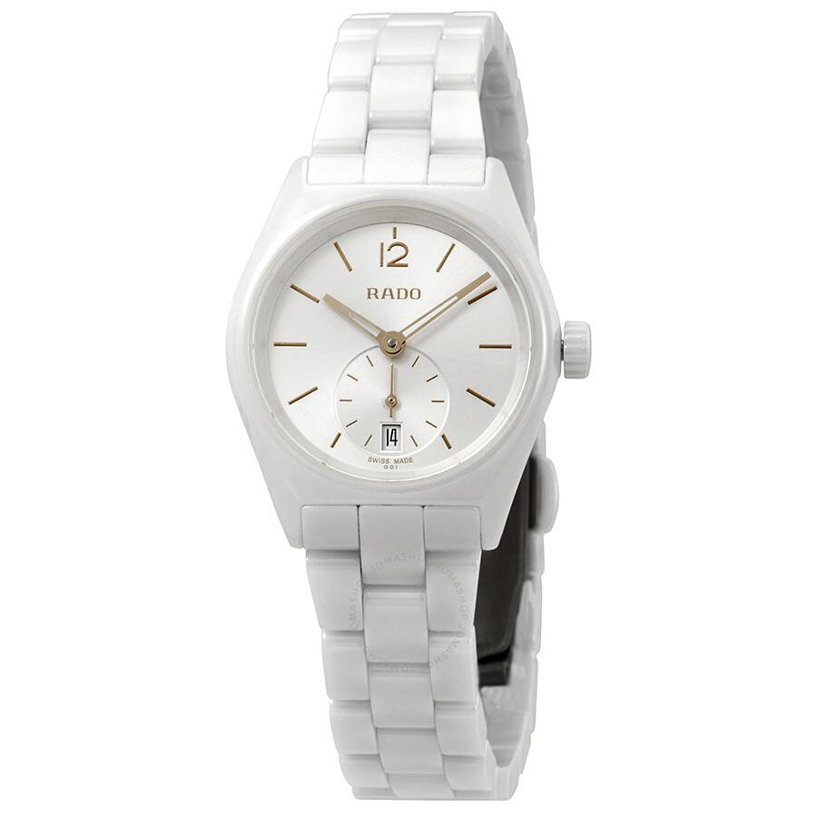 Rado True Specchio Silver Dial Ladies Watch R27085012