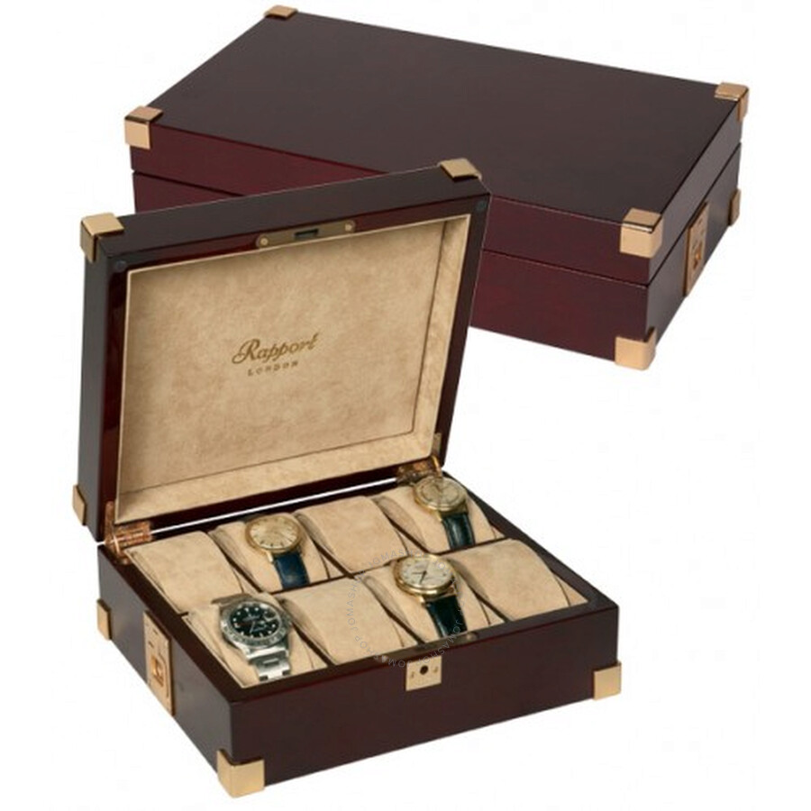 Rapport Captains 8 Watch Collectors Case