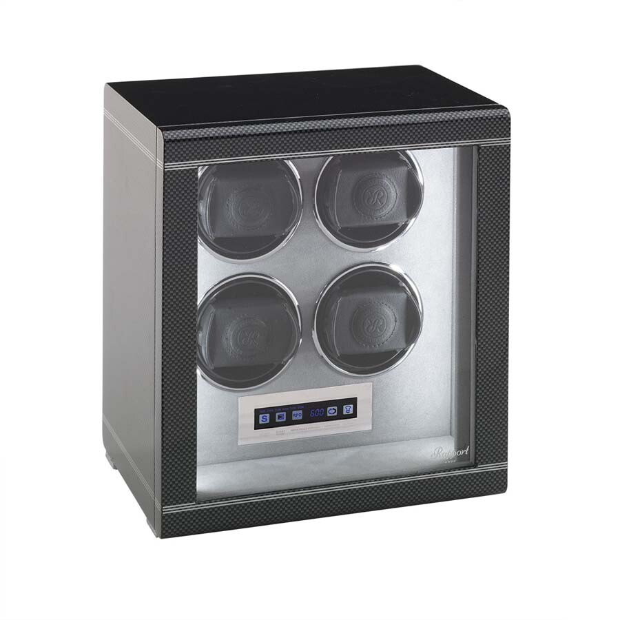 Rapport London Formula Carbon Quad Watch Winder W564