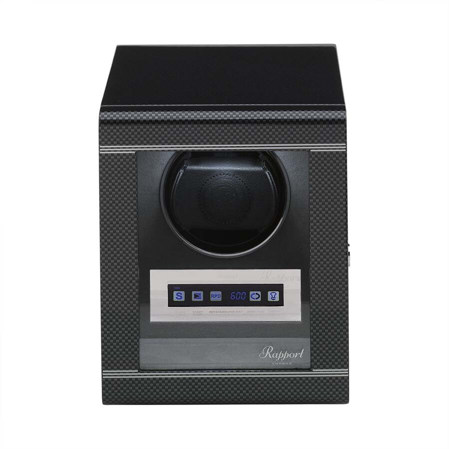 Rapport London Formula Carbon Single Watch Winder W561