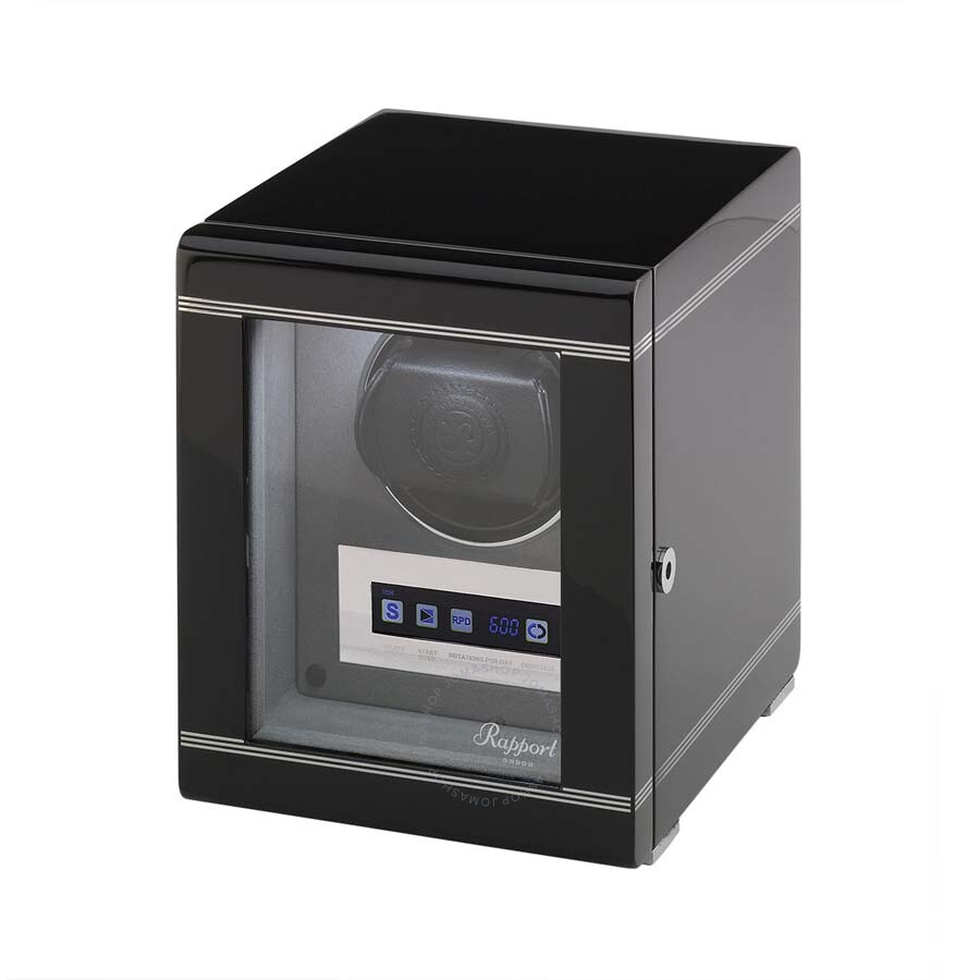 Rapport London Formula Ebony Single Watch Winder W551