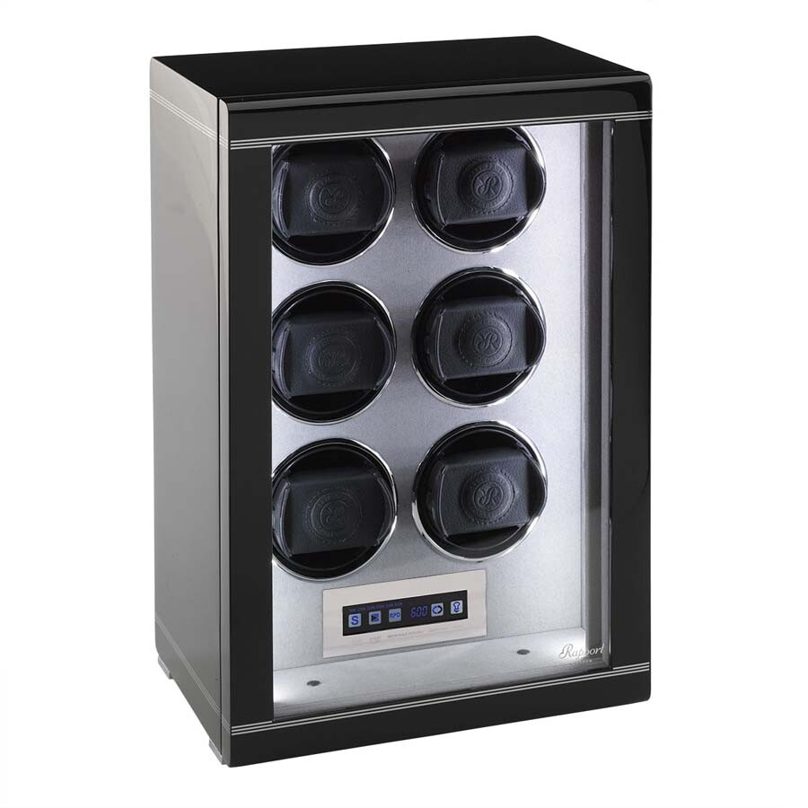 Rapport London Formula Ebony Six Watch Winder W556