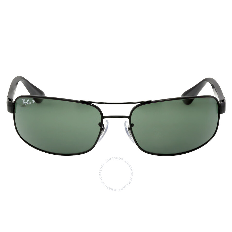 7ad56a14949 ... greece ray ban 61 mm sunglasses black polarized green classic g 15  c69bc f14d9