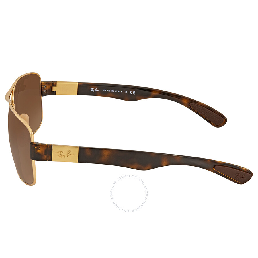 f2632783c2e ... france ray ban arista brown gradient mens sunglasses rb3522 001 13 64  9377e 89c1f coupon for ray ban mens polarized rb3522 rb3522 004 9a ...