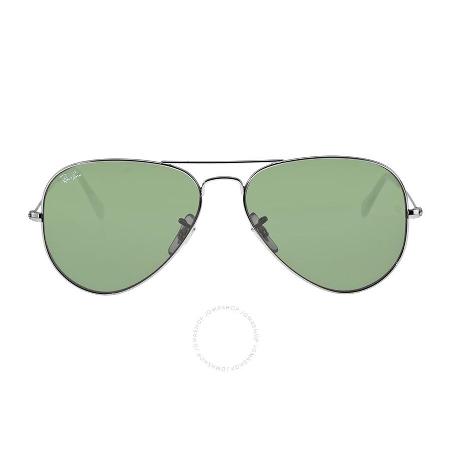 28ac8e14029 australia ray ban aviator 58mm classic sunglasses gunmetal with green g 15  69e0f 55ccd