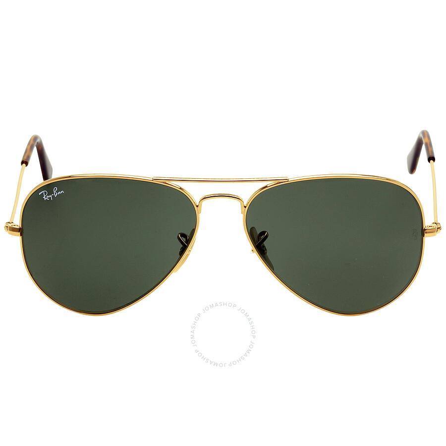 Ray-Ban Aviator Classic Green Classic G-15 58 mm Sunglasses ...
