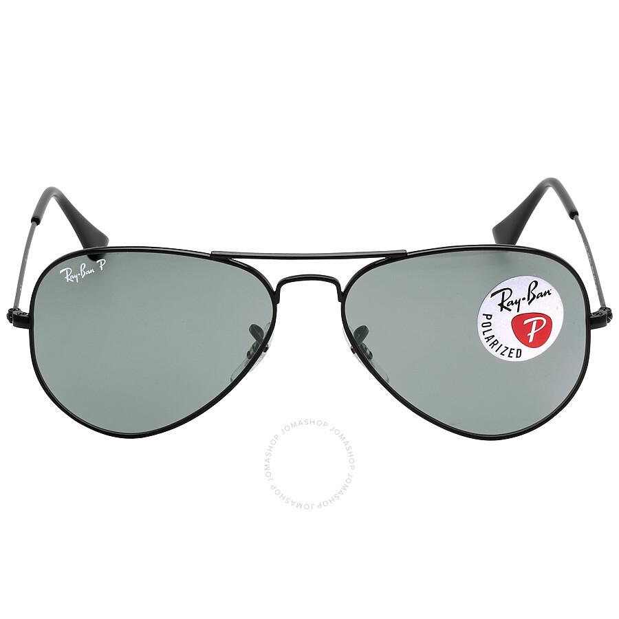 ray ban ray ban aviator classic polarized green classic g15 sunglasses rb3025 00258 55