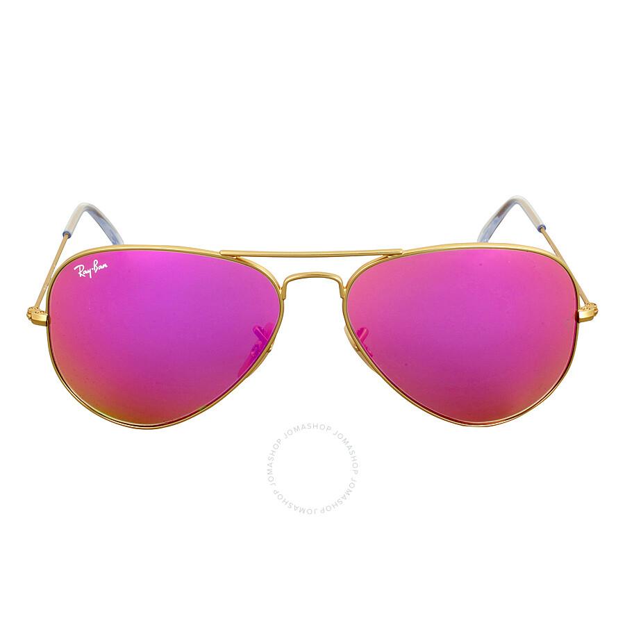 ray ban rayban aviator cylamen flash sunglasses 30251124t58