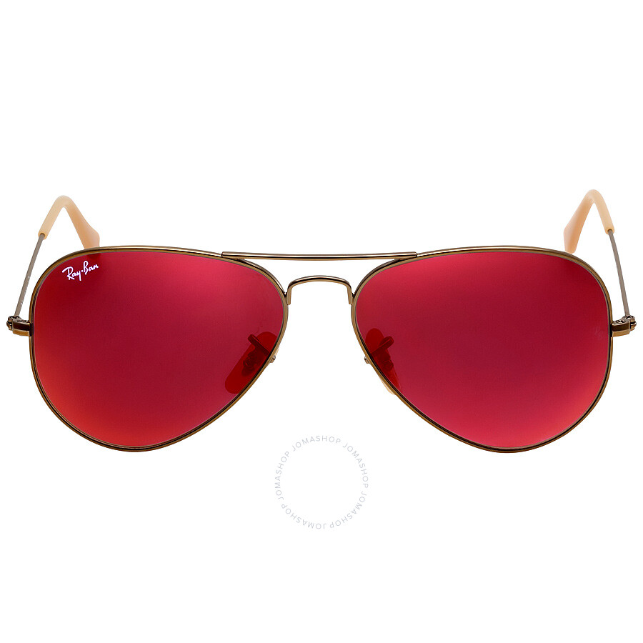 ray ban 3025 red