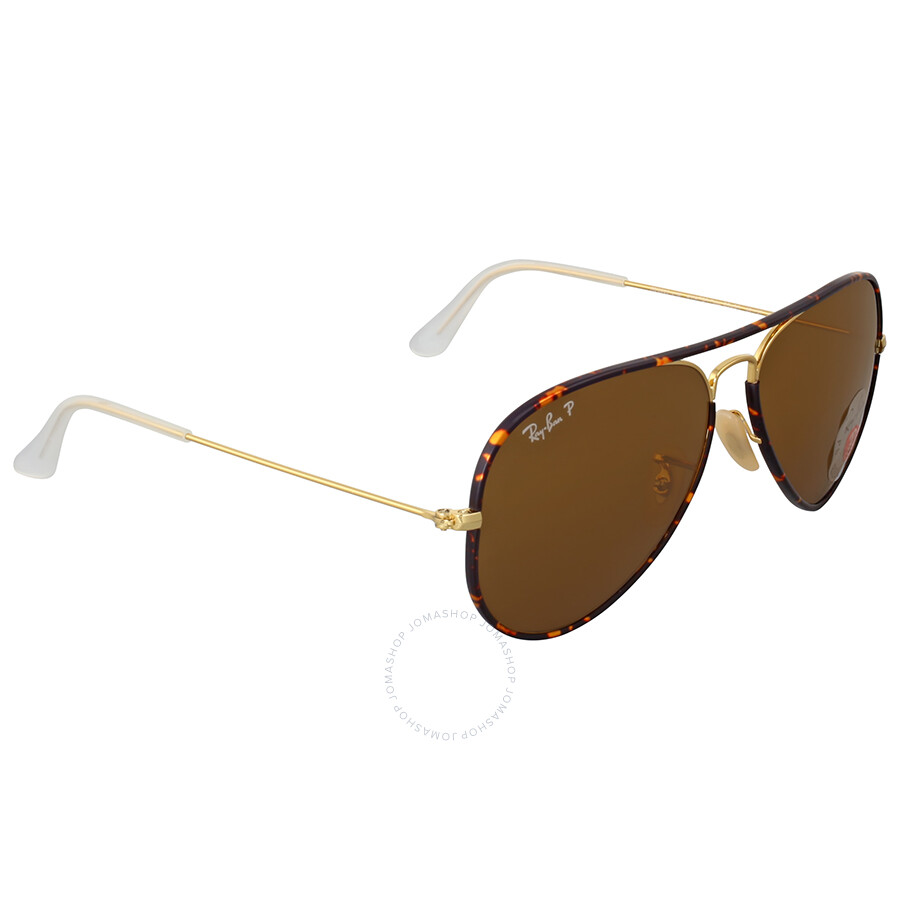 ee9863781d ... order ray ban aviator full color brown polarized sunglasses 7f223 ec728
