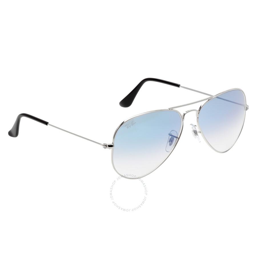 4c78f28a43213 ... order ray ban aviator gradient light blue gradient sunglasses rb3025  0033f 5814 2ed6d 63bda
