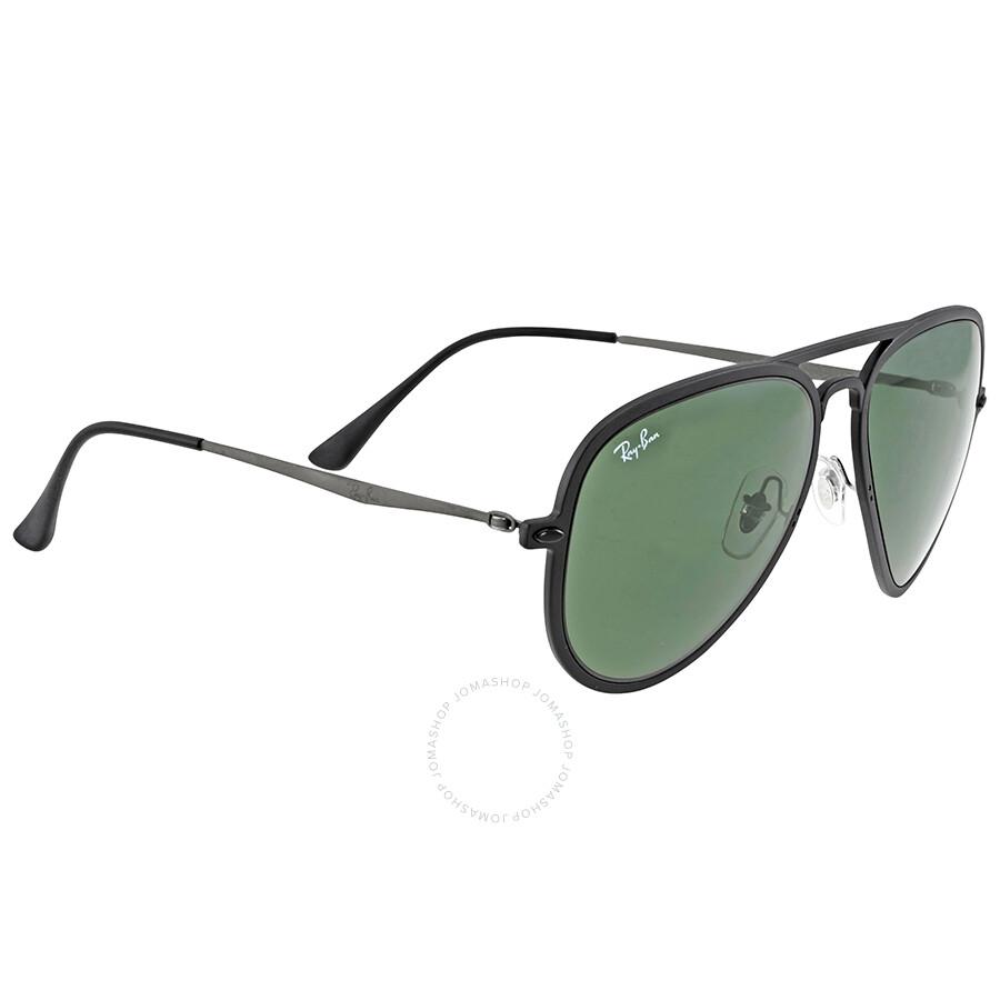 Ray Ban Aviator Light Ray Ii Green Classic Sunglasses